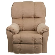 Flash Furniture Contemporary Top Hat Microfiber Power Recliner, Coffee