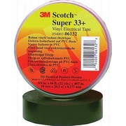 3M 3/4'' X 66' Black Super 33+ Vinyl Electrical Tape