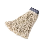 Rubbermaid Commercial Products Premium Cut-End Cotton Mop Head in White