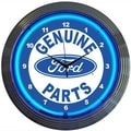 Neonetics 15'' Ford Genuine Parts Wall Clock