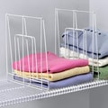 Spectrum Diversified Closet Organization Ventilated 1 Pack Shelf Divider