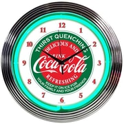 Neonetics Drinks 15'' Coca Cola Wall Clock