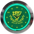 Neonetics 15'' Irish Erin Go Bragh Wall Clock