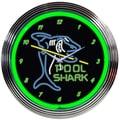 Neonetics 15'' Pool Shark Wall Clock