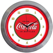 Neonetics Drinks 15'' Coca Cola 1910 Classic Wall Clock