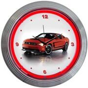 Neonetics 15'' Ford Mustang Boss 302 Wall Clock