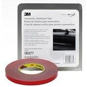 3M Foam Double Sided Tape 1/2 X 20Yd (Gray)