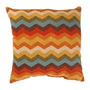 Pillow Perfect Panama Wave Cotton Throw Pillow; 18'' x 18''