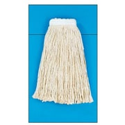 Unisan Cotton Fiber Cut-End Mop Head in White (Set of 15)