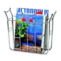 Spectrum Diversified Euro Basket Magazine Rack; Chrome