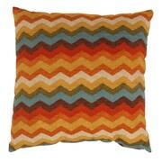 Pillow Perfect Panama Wave Cotton Throw Pillow; 23'' x 23''