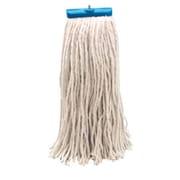 Unisan 16 oz Economical Lie Flat Rayon Mop Head in White (Set of 16)