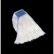 Rubbermaid Commercial Products Cut-End Blend Cotton/Synthetic Mop Heads in White