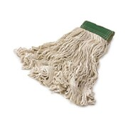 Rubbermaid Commercial Products Super Stitch Cotton Mop Heads Medium in White