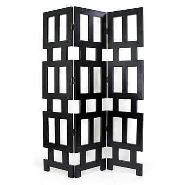 Wayborn 76'' H x 54'' W Albertson 3 Panel Room Divider