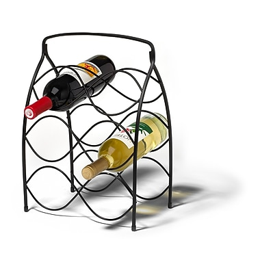 Spectrum Diversified Neko 6 Bottle Tabletop Wine Rack