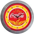 Neonetics Drinks 15'' Coca Cola Wings Wall Clock