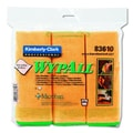 Kimberly-Clark Wypall Cloths with Microban Microfiber in Yellow