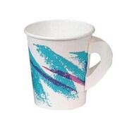 Solo Cups Jazz Hot Paper Cups with Handles Jazz Design