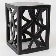 Wayborn Charleston End Table; Antique Black