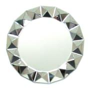 Wayborn 32'' H x 32'' W Beveled 3D Round Mirror