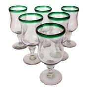 Novica Javier and Efren Caribbean Pina Colada Glass (Set of 6)