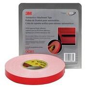 3M Foam Double Sided Tape 7/8 X 20Yd (White)