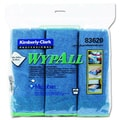 Kimberly-Clark Wypall Cloths with Microban Microfiber in Blue