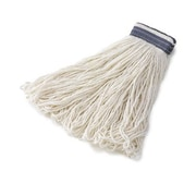Rubbermaid Commercial Products Universal Headband Rayon Mop Heads in White