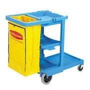 Rubbermaid Commercial Products 38.38'' Multi-Shelf Cleaning Cart
