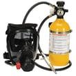MSA Cadet Supplied Air Respirator w/30'' Medium Hycar Facepiece w/NetHead Harness nd Firehawk MMR