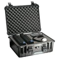 Pelican Products Equipment Case with Foam: 16.88'' x 20.63'' x 8.13''; Black