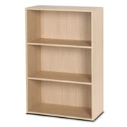 Bestar Clic Furniture 42'' Bookcase; Essential Oak Light