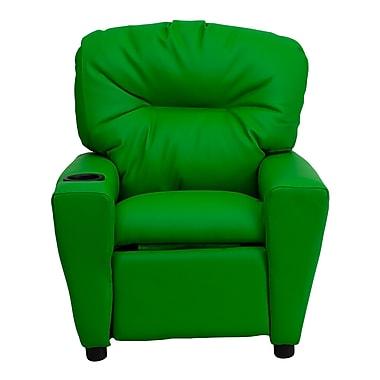 Flash Furniture Wood Recliner, Green (BT7950KIDGRN)