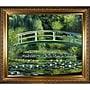 Tori Home Japanese Bridge by Monet Framed Hand