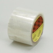 3M X 50M Scotch  371 Pressure Sensitive Clear Box Sealing Tape