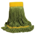 Unisan EchoMop Looped-End X-Large Mop Head in Green