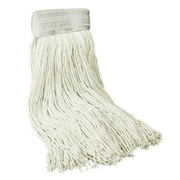 Unisan Mop Head with Premium Saddleback Head in White
