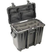 Pelican Products Case with Utility Padded Divider and Lid Organizer