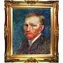 Tori Home Self Portrait by Van Gogh Framed