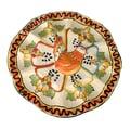 Novica Jorge Quevedo Golden Harvest Ceramic Egg Plate