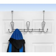 Spectrum Diversified Quazar 9-Hook Rack; Chrome