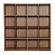 Bestar Clic Furniture 55.46'' Bookcase; Italian Walnut