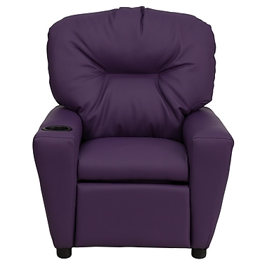Flash Furniture Wood Recliner, Purple (BT7950KIDPUR)