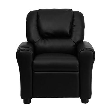 Flash Furniture Wood Recliner, Black (DGUTLKIDBK)