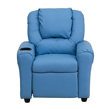 Flash Furniture Wood Recliner, Light Blue (DGULTLTBLUE)