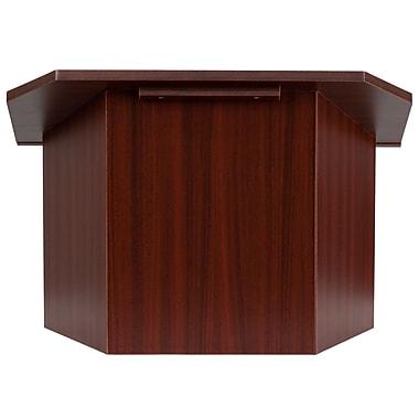 Flash Furniture Foldable Tabletop Lectern, Mahogany (MTM8833LECT)