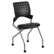 Flash Furniture Galaxy Mobile Nesting Chair with Black Leather Seat (WLA224VLEA)