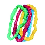 "S&S® 1"" Festive Party Leis, 72/Pack"