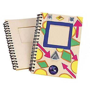 S&S® Paper Mache Notebook, 12/Pack